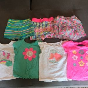 Mix and match bundle- 2t tops and 24m bottoms